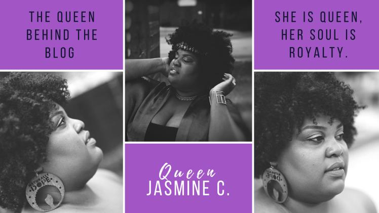 Queen behind the blog