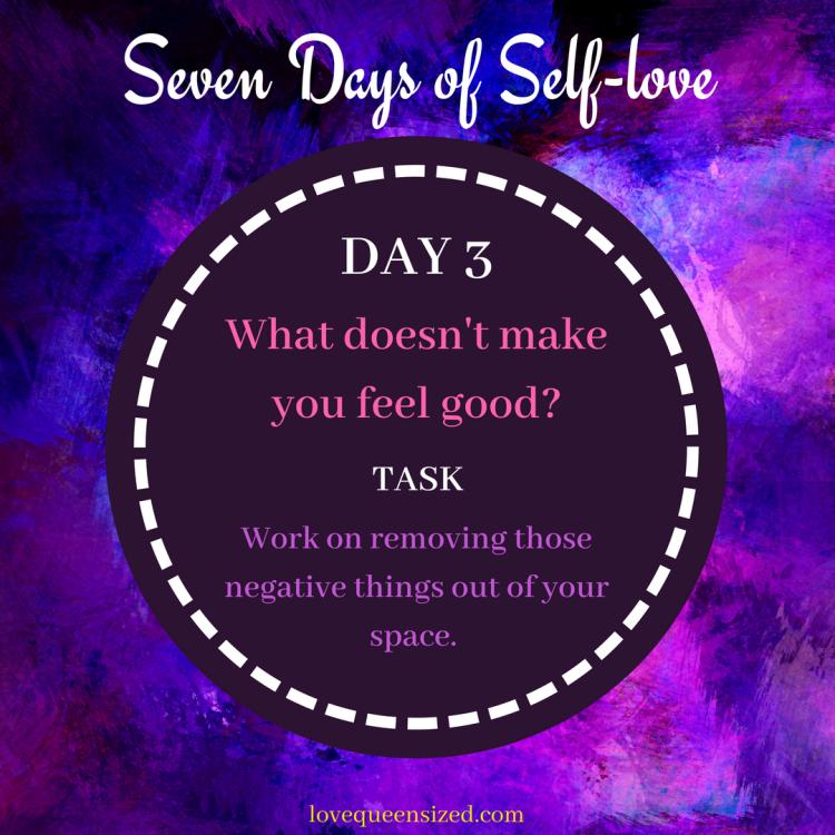 Seven Days of Self-love (3)