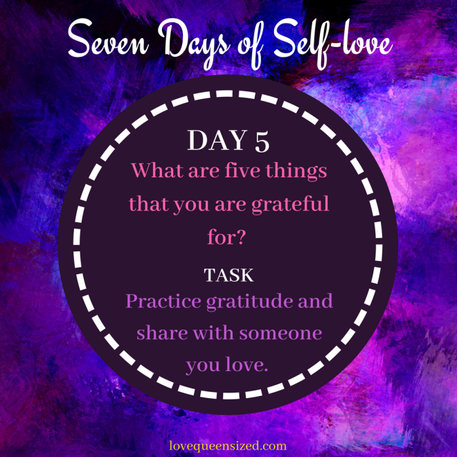 Seven Days of Self-love (6)