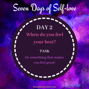 Seven Days of Self-love